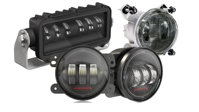J.W. Speaker Fog Lights