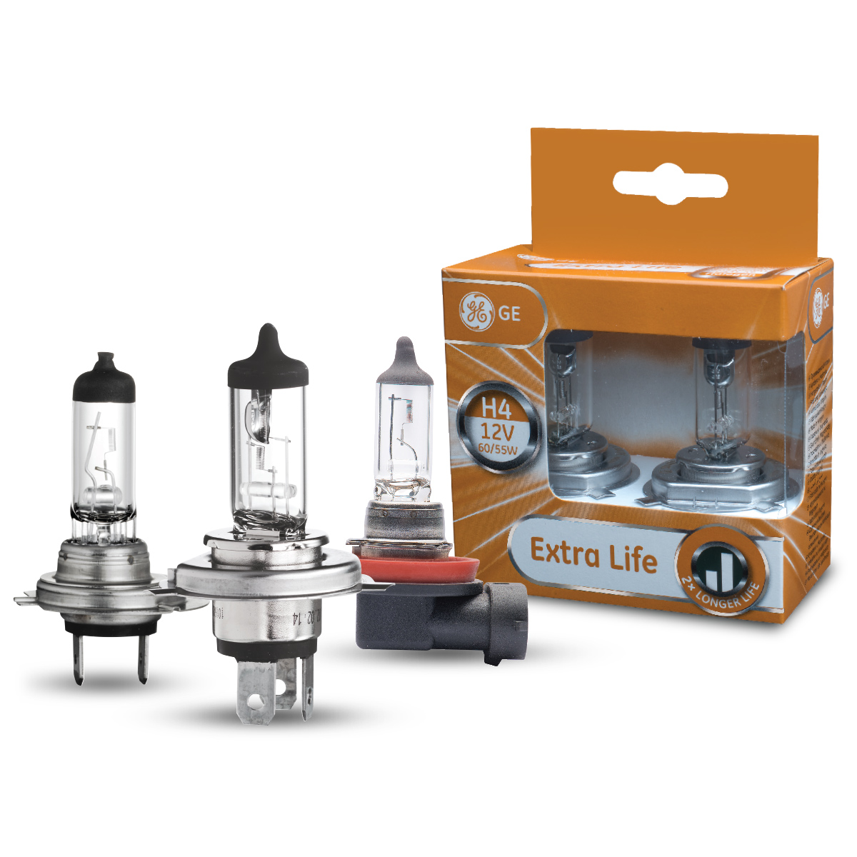 Halogen Headlight Bulbs – Extra Life