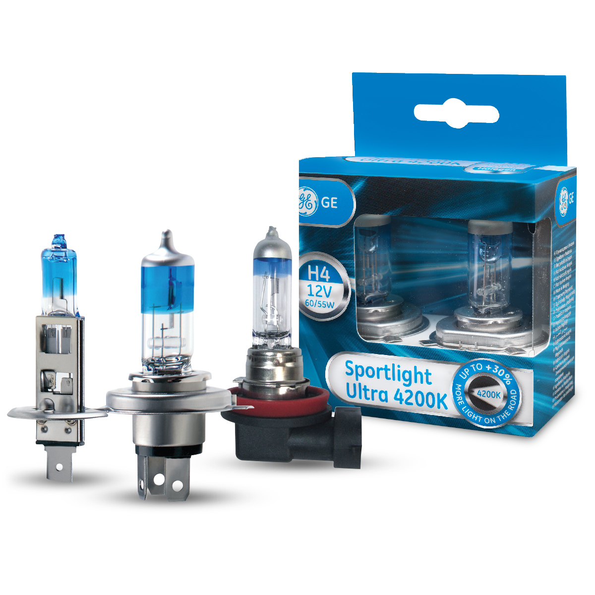 Halogen Headlight Upgrade Bulbs – Sportlight Ultra 4200K