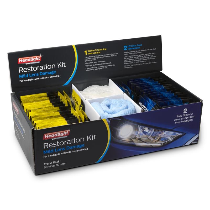Headlight Restoration - Trade