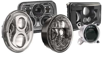 J.W. Speaker Headlight Inserts