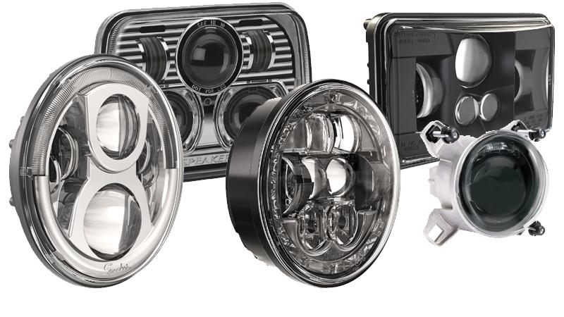 LED Headlight Inserts
