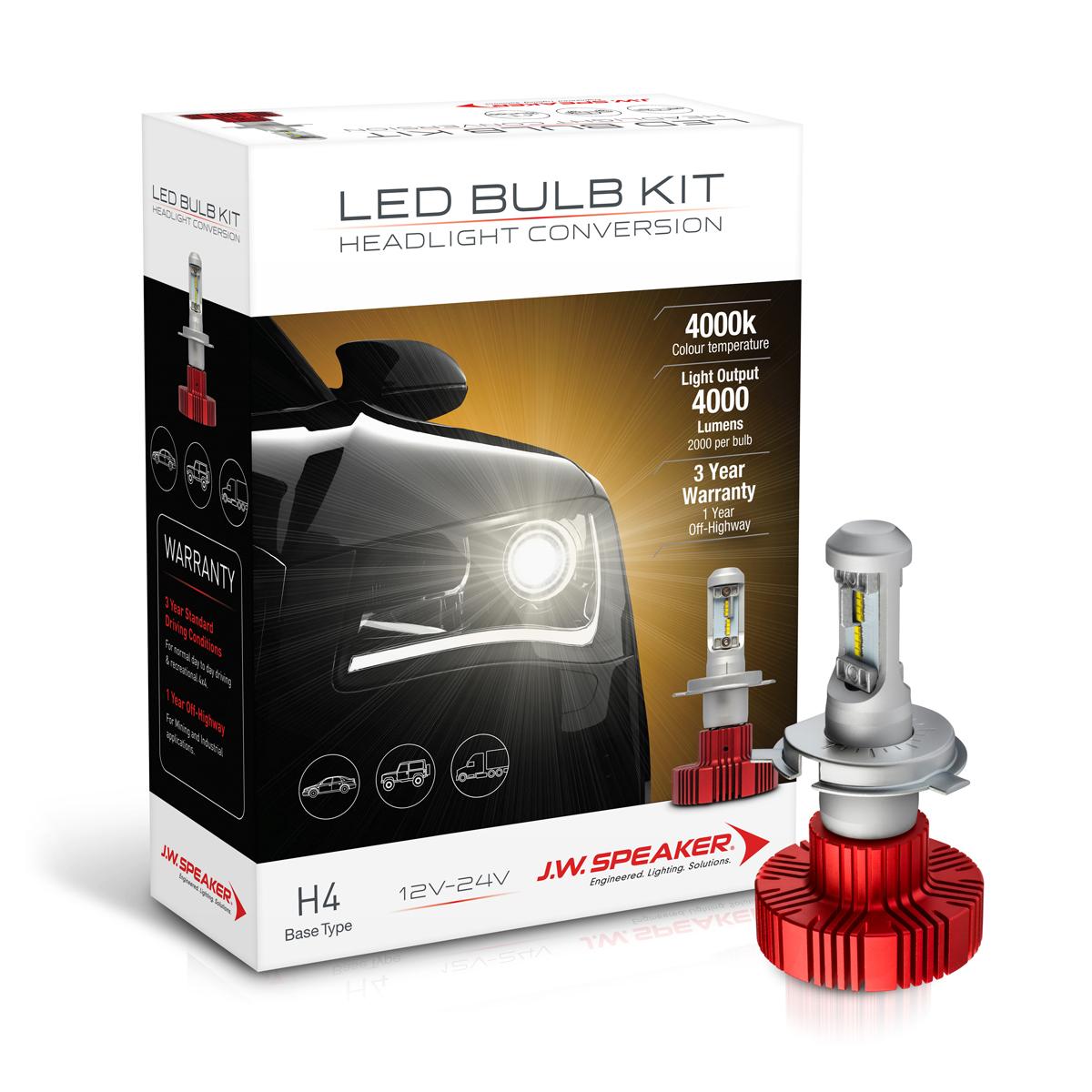 LED Headlight Conversion Kit – Model 4000
