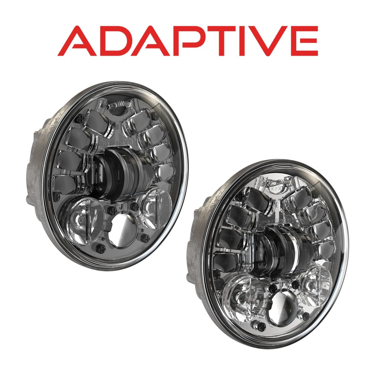 Motorcycle LED Headlights – Model 8690 Adaptive