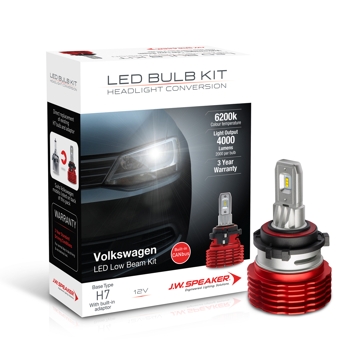 LED Headlight Conversion Kit – Vehicle Specific