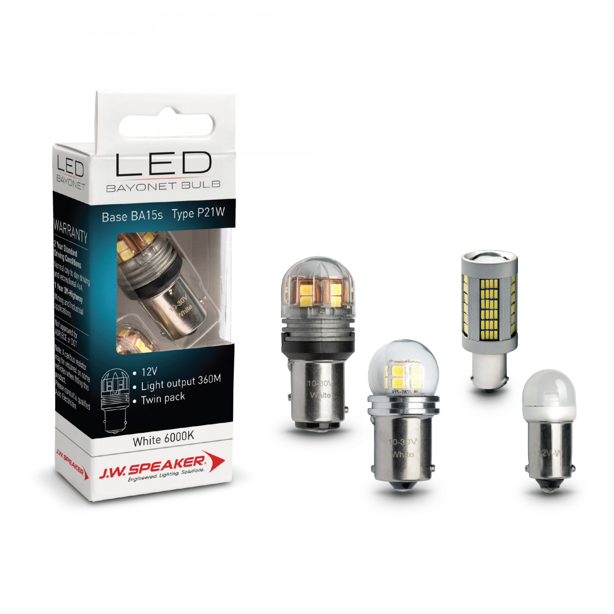 LED Signalling – Bayonet Bulbs