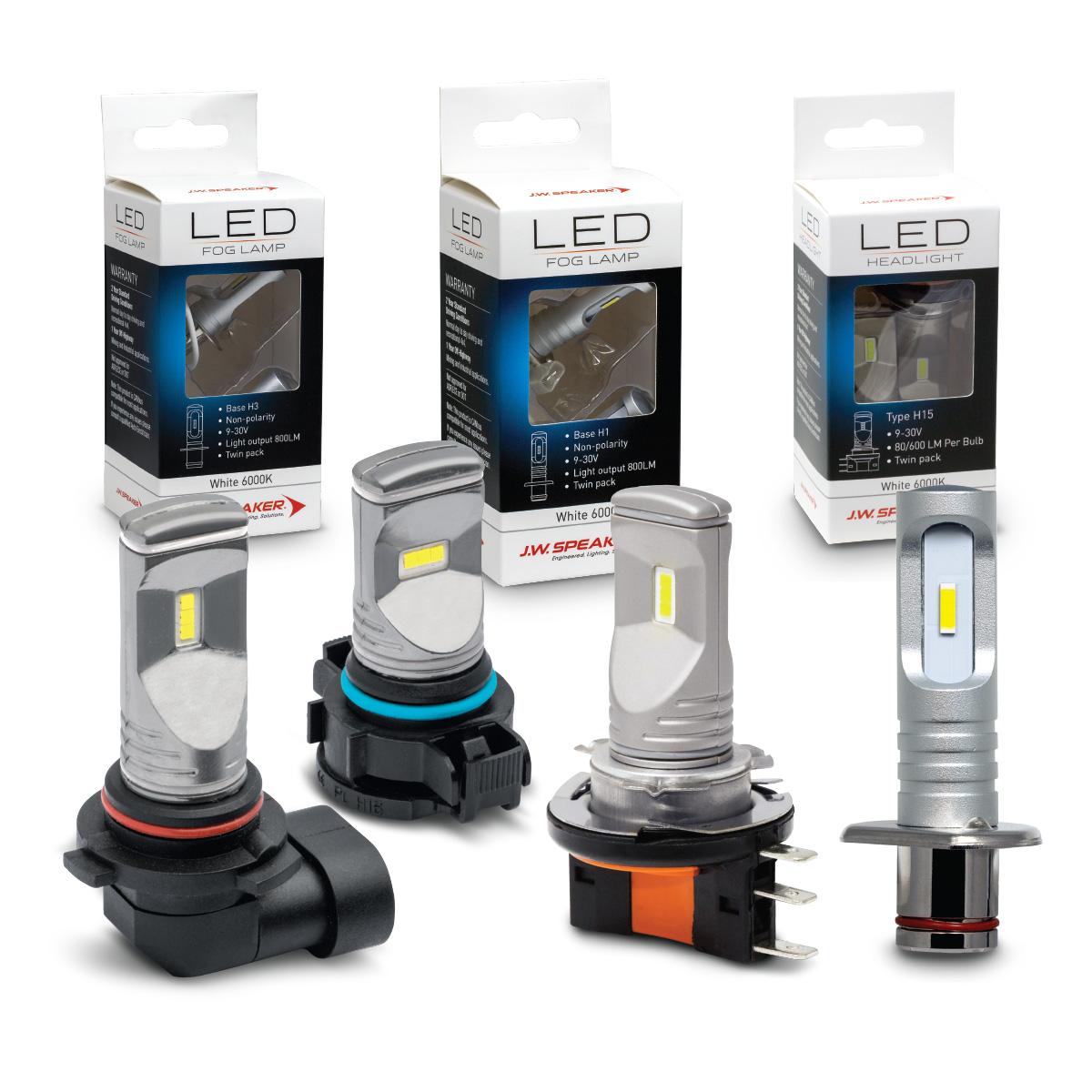 LED Fog & Multi-Function Bulb Range