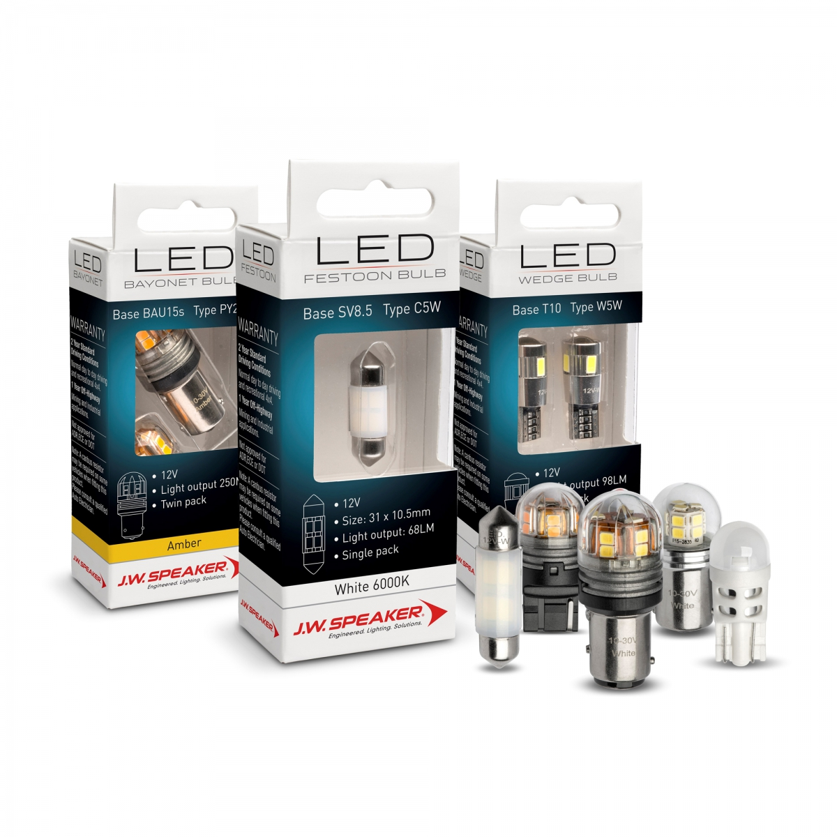 LED Signalling Bulb Range