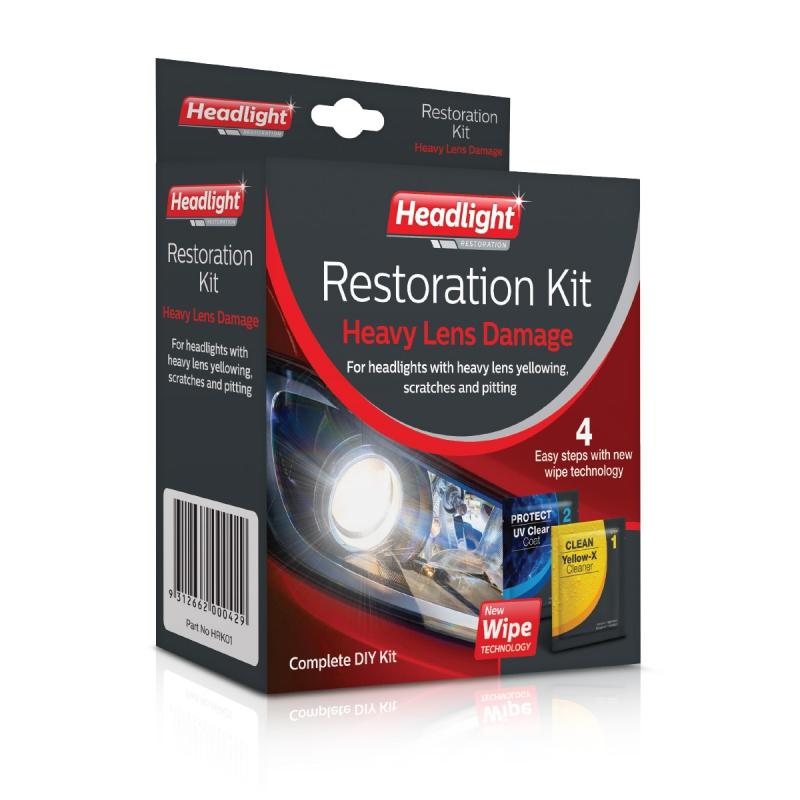 Headlight Restoration - DIY