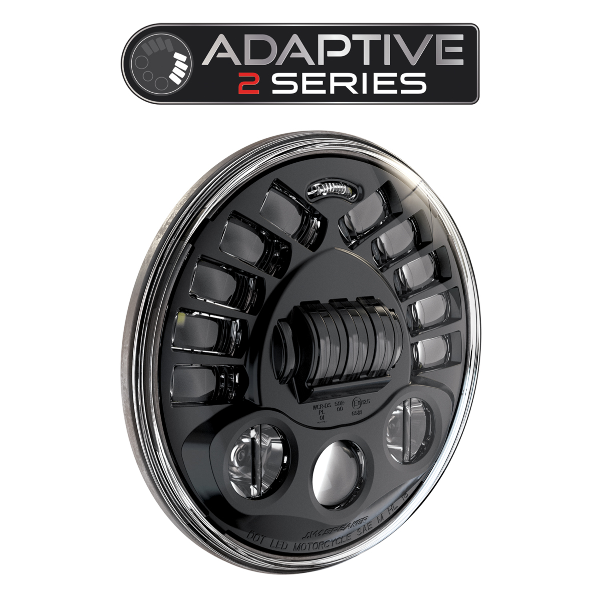Adaptive LED Motorcycle Headlights – Model 8790 A2