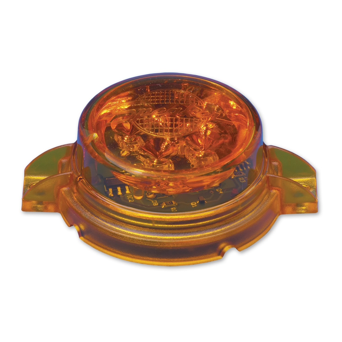 LED Amber Flashing Warning Light – Model 146